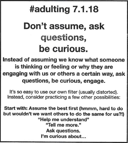 Adulting Tip 3